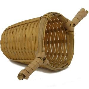 Bambusz szűrő két fogóval